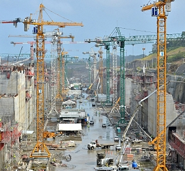 EXTENSION OF 3rd set of sluices in the PACIFIC IN THE PANAMA CANAL