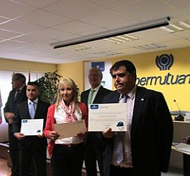 Group Tecozam has been awarded por its unique involvement in prevention and occupational health