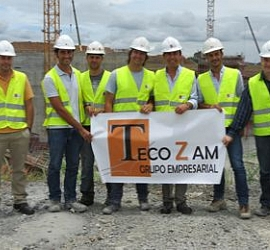 Visit of Zamora authorities to works on the Panama Canal