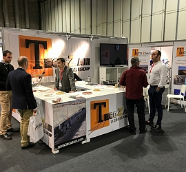 Tecozam exhibits in the United Kingdom Infrastructure Show (UKIS)